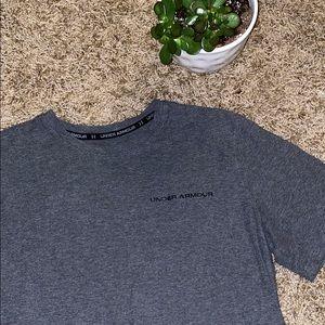 Under Armour Dark Gray Heat Gear Shirt